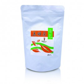 cf030 美姬茶(茶包)成分:絞股藍、決明子、 烏龍茶、荷葉、番瀉葉、山植、 尤力克檸檬、橙皮。$290